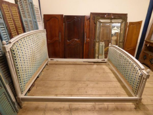 Vintage French King Size Bed -  160cm Wide - fg121